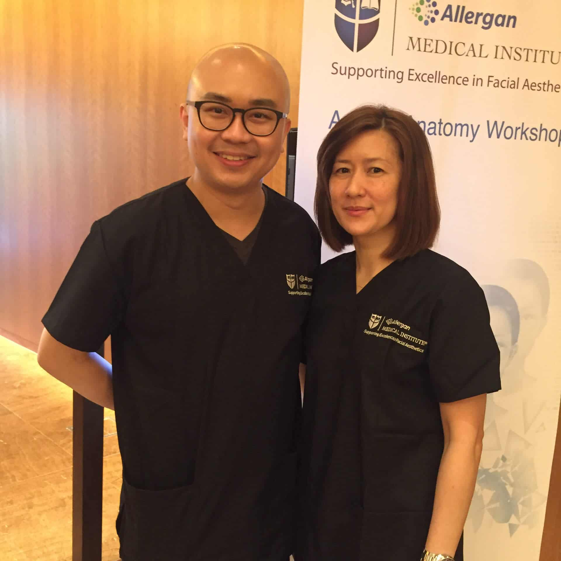 Allergan Medical Institute (AMI) Applied Anatomy Workshop June 2016 with Participant - 1920px-001