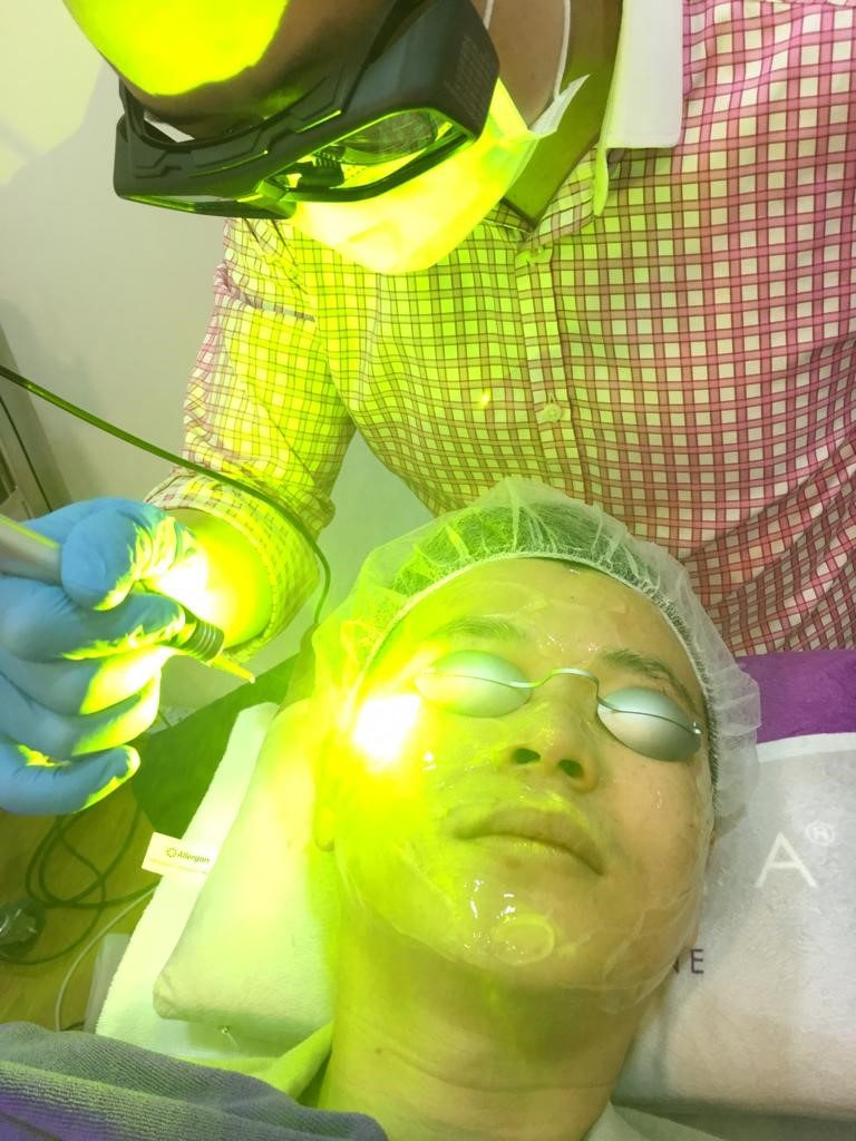 Combination Laser Treatment at The Ogee Clinic